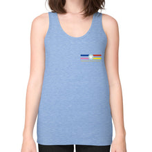 Fine Jersey Tank (woman) Tri-Blend Blue International Group of Anthony
