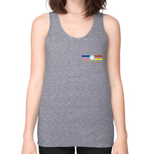 Fine Jersey Tank (woman) Tri-Blend Grey International Group of Anthony