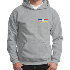 Gildan Hoodie (on man) Sport grey International Group of Anthony