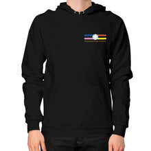 Hoodie (on man) Black International Group of Anthony