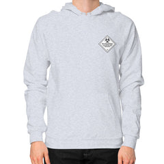 Hoodie (on man) Heather grey International Group of Anthony