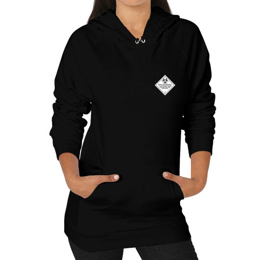 Hoodie (on woman) Black International Group of Anthony