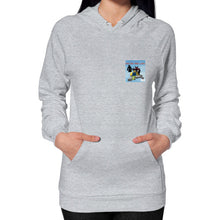 Hoodie (on woman) Heather grey International Group of Anthony