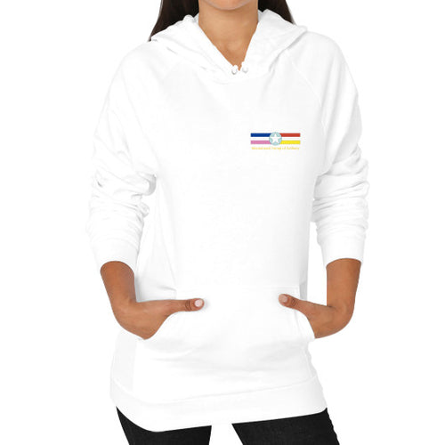 Hoodie (on woman) White International Group of Anthony