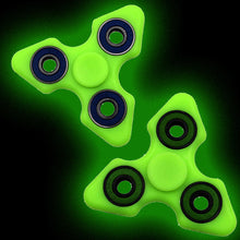 Triangular Glowing Fidget Spinner