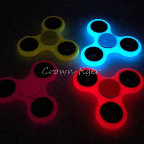 Luminous Fidget Tri-Spinner Spinner