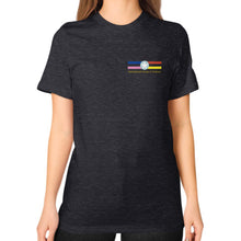 T-Shirt (woman) Tri-Blend Black International Group of Anthony