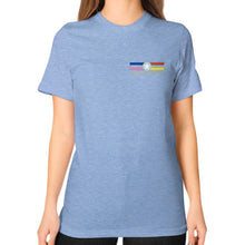 T-Shirt (woman) Tri-Blend Blue International Group of Anthony