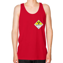 Unisex Fine Jersey Tank (on man) Red International Group of Anthony
