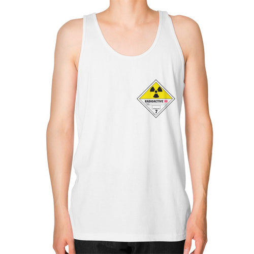 Unisex Fine Jersey Tank (on man) White International Group of Anthony