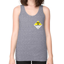 Unisex Fine Jersey Tank (on woman) Tri-Blend Grey International Group of Anthony