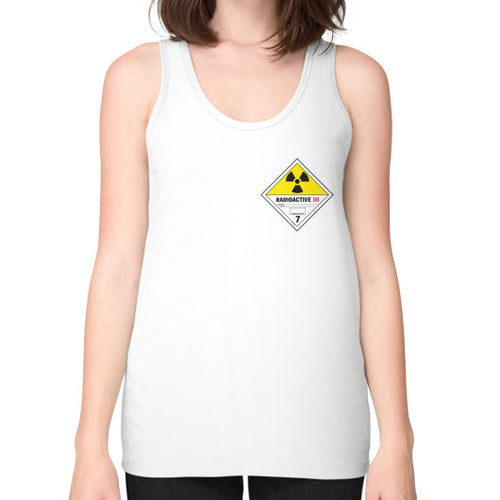 Unisex Fine Jersey Tank (on woman) White International Group of Anthony
