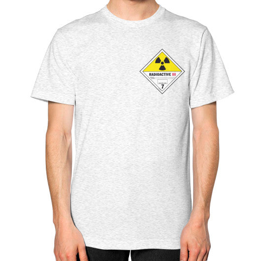 Unisex T-Shirt (on man) Ash grey International Group of Anthony