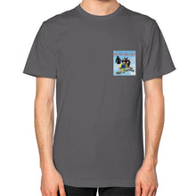 Unisex T-Shirt (on man) Asphalt International Group of Anthony