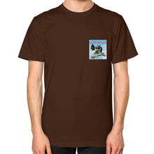 Unisex T-Shirt (on man) Brown International Group of Anthony