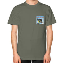 Unisex T-Shirt (on man) Lieutenant International Group of Anthony