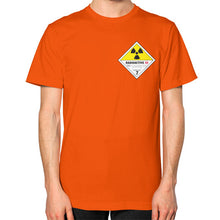 Unisex T-Shirt (on man) Orange International Group of Anthony
