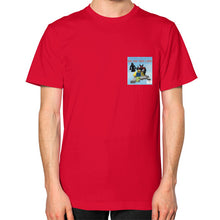 Unisex T-Shirt (on man) Red International Group of Anthony