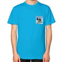 Unisex T-Shirt (on man) Teal International Group of Anthony