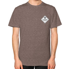 Unisex T-Shirt (on man) Tri-Blend Coffee International Group of Anthony