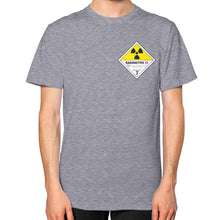 Unisex T-Shirt (on man) Tri-Blend Grey International Group of Anthony