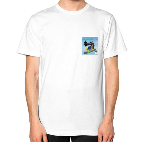 Unisex T-Shirt (on man) White International Group of Anthony