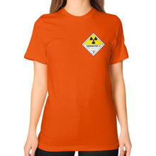 Unisex T-Shirt (on woman) Orange International Group of Anthony