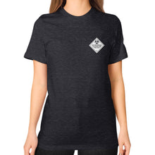 Unisex T-Shirt (on woman) Tri-Blend Black International Group of Anthony