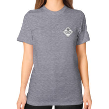 Unisex T-Shirt (on woman) Tri-Blend Grey International Group of Anthony