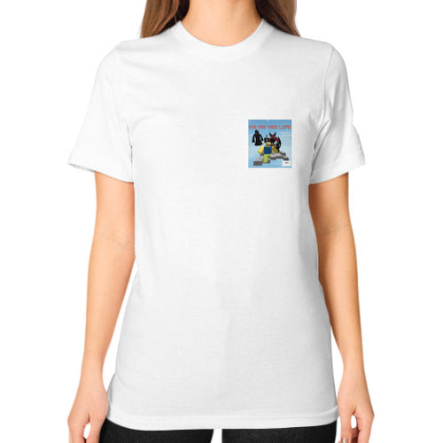 Unisex T-Shirt (on woman) White International Group of Anthony
