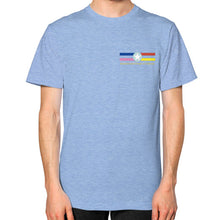 Unisex T-Shirt Tri-Blend Blue International Group of Anthony