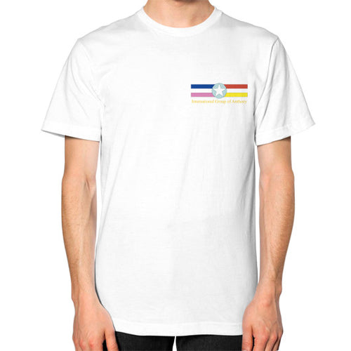 Unisex T-Shirt White International Group of Anthony