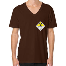 V-Neck (on man) Brown International Group of Anthony