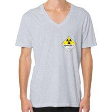 V-Neck (on man) Heather grey International Group of Anthony