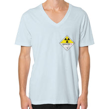 V-Neck (on man) Light blue International Group of Anthony