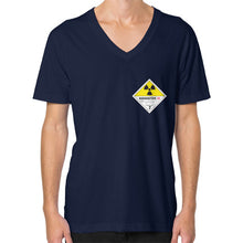 V-Neck (on man) Navy International Group of Anthony