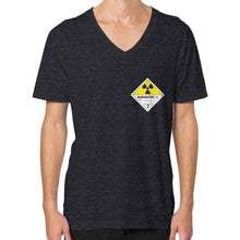 V-Neck (on man) Tri-Blend Black International Group of Anthony