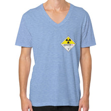 V-Neck (on man) Tri-Blend Blue International Group of Anthony