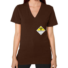 V-Neck (on woman) Brown International Group of Anthony
