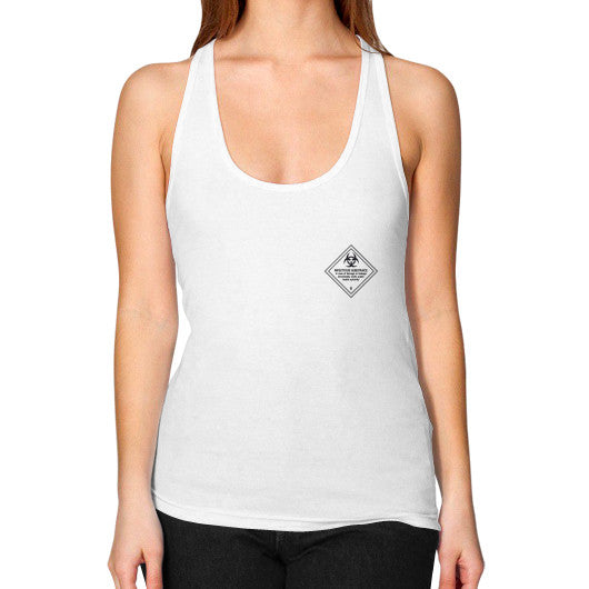 Women's Racerback Tank White International Group of Anthony