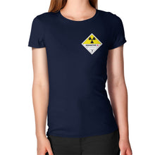 Women's T-Shirt Navy International Group of Anthony