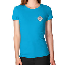Women's T-Shirt Teal International Group of Anthony
