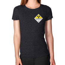 Women's T-Shirt Tri-Blend Black International Group of Anthony
