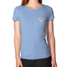 Women's T-Shirt Tri-Blend Blue International Group of Anthony