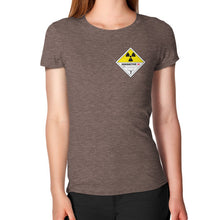 Women's T-Shirt Tri-Blend Coffee International Group of Anthony