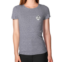 Women's T-Shirt Tri-Blend Grey International Group of Anthony