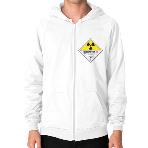 Zip Hoodie (on man) White International Group of Anthony