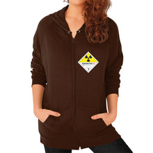 Zip Hoodie (on woman) Brown International Group of Anthony
