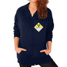 Zip Hoodie (on woman) Navy International Group of Anthony