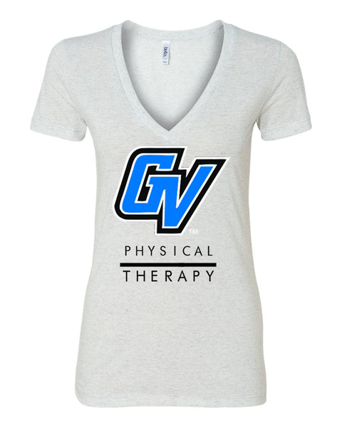 GV Physical Therapy Ladies Triblend V Neck